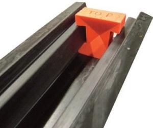 Concrete Moulds - Slotted Fence Post Mould