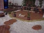 abs octagon decktile garden