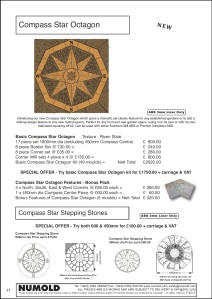 Numold - Moulds for Concrete Products - ABS Price List Page 11 - Compass Star Octagon