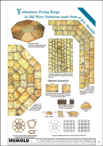 Numold - Moulds for Concrete Products - ABS Price List Page 16 - Yorkminster Octagon